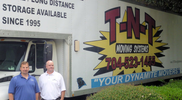 Todd and Tom, Owners of T-N-T Moving Systems