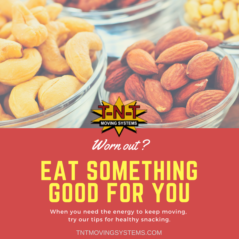 tnt moving systems, healthy snacks, exercise, workout recovery, charlotte movers