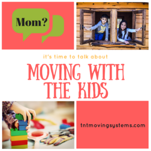 how to talk to kids about moving