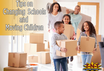 Tips in Changing School and Moving with Kids