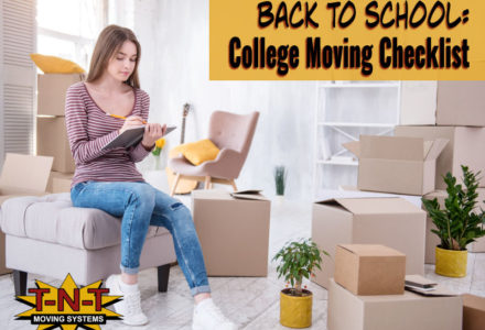 Back to School College Checklist