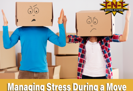 How to manage Stress During a Move